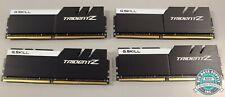 G.SKILL, 64GB(4x16GB) TridentZ 288-Pin DDR4 PC425600MHz, P/N F4-3200C16Q-64GTZKW