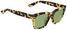 GUCCI Square Sunglasses GG 1099/S Tortoise Havana Brown Green Lenses 00FDJ