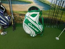 TaylorMade 2017 Major Championship Commemorative Green and White Golf Bag