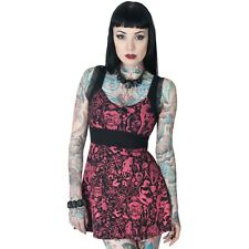 Women's Devil Made Me Do It Baby Doll Dress Kreepsville Gothic Horror Fashion