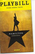Playbill Hamilton the Musical March 2017 Jevon  McFerrin New Cast L