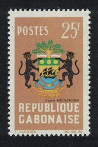 Gabon Arms of Gabon 1964 MNH SG#209
