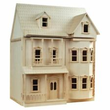 More details for wooden victorian dolls house / dollshouse 1:12th scale ' the ashburton ' dh001