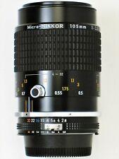 ***  MINT L/N *** Nikon Micro 105mm F2.8 Ai-s For F3 FA FM2 FE2 F2 FM3A