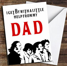 Funny Joke The Beatles Father's Day Card