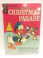 Walt Disney Christmas Parade #4 Comic Book Gold Key 1948 Second Print