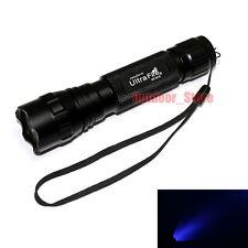 1x UltraFire WF-501B CREE LED Purple Light UV 1Mode 150Lumens Flashlight Torch
