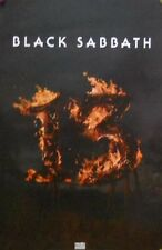 BLACK SABBATH POSTER (SMALL VERSION)  (J4)