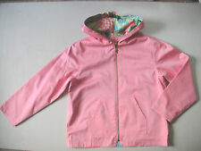 Lilly Pulitzer Girls Pink Hooded Reversible Zipper Closure Jacket  Size 10