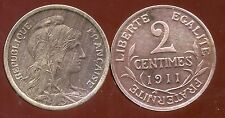 2 centimes DUPUIS 1911  ( bis )