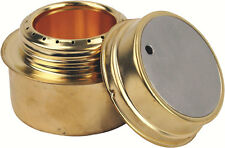 Brass Alcohol Meths Burner Adjustable Camp Cooker ( Bushcraft Highlander NEW