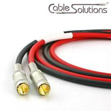Canare Low-Microphonic Stereo Interconnect Cables 5m