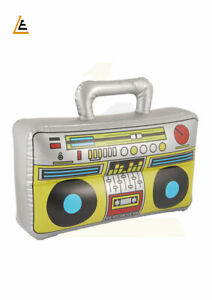 INFLATABLE BOOM BOX FANCY DRESS/KIDS PARTY'S Inflatable Blow Up Novelty Boom Box