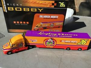 Ricky Bobby Talladega Nights Laughing clown transport truck Action 1/64 Scale
