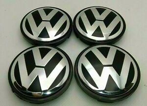 Volkswagen VW 4x56mm 1998-2010 Beetle Golf Jetta Center Cap Hub Cover 1J0601171