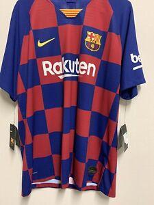 NWT Nike FC Barcelona 2019/20 Vaporknit Home Match Jersey Men Sz XL