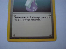 1999 Pokemon Trainer Trading Card Potion 94/102 Base Set