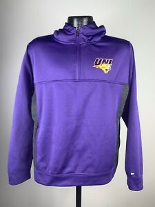 Youth Boys Colosseum Sports Northern Iowa Panthers Purple 1/4 Zip Pullover XL