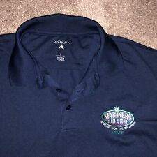 Seattle Mariners Team Store Staff Employee Promo Baseball MLB Golf Polo Shirt