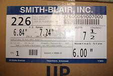 "New Smith Blair 226 6"" X 7.5"" Full Circle Repair Clamp 7.5"" w  22600069007000"