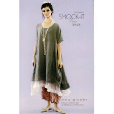 "TINA GIVENS ""SMOCK-IT DRESS"" Sewing Pattern"