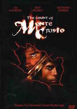 THE COUNT OF MONTE CRISTO Jim Caviezel 2002 DVD New!