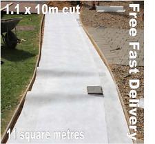 Tessuto in pile Geotessile MEMBRANA perdita per infiltrazione erba con RAPIDO E GRATIS 11m2 - 1.1 x 10m
