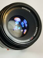 Minolta Maxxum AF 50mm F/1.7 Lens | Made In Japan | 50mm 1:1.7 Auto Focus lens