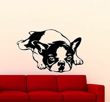French Bulldog Wall Decal Dog Vinyl Sticker Kids Baby Art Decor Home Mural 31ca