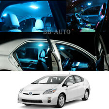 For 09-15 Toyota Prius Interior LED Ice Blue Dome Light Xenon Bulb Kit Qty = 10