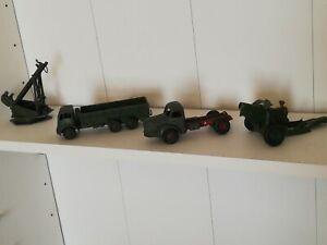 Corgi & Britain's Army Vehicles,Spares or Repair.