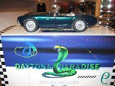 exoto #11130 1/18 1962 ac shelby cobra 260 roadster in standox daytona paradise
