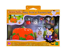 Sylvanian Families Calico Critters Halloween Baby Trick Or Treaters Set