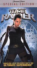 Lara Croft Tomb Raider Brand New Factory Sealed VHS 2002 Special Edition !!!
