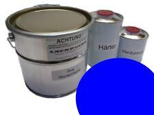 7 litres Kit 2K Phosphate de zinc-époxy couche primaire Stylo à encre bleu RAL