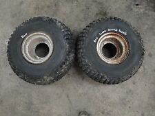 '83 1983 HONDA ATC 200 3 3-WHEELER BODY REAR WHEELS TIRES 25X12.00-9