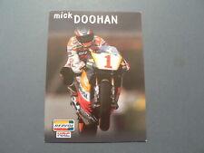 INFO FAN CARD MICK DOOHAN WEGRACE ROADRACE REPSOL HONDA HRC NO1 MOTO GP