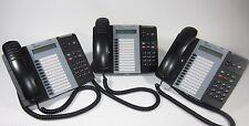 Mitel 5212 (Lot of 6) VoIP Phone 50004890 Dark Grey Black Gray IP Display Phones