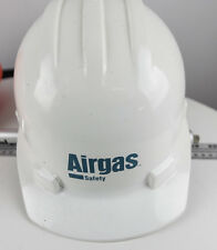 AIRGAS SAFETY HELMET MSA SKULL GUARD HARD HAT 4 POINT RATCHET SUSPENSION NEW