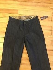 """Rich & Skinny """"Butterfinger"""" Dark Blue Flare Jeans Size 26 NWT!"""