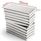 10/20/50/100pcs Super Strong Block Fridge Magnets Rare Earth Neodymium 20x10x2mm