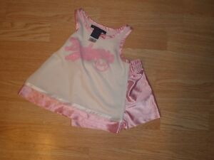 Infant/Baby Los Angeles Dodgers 18 Mo Cheerleader Outfit Cheer Dress (Pink/White