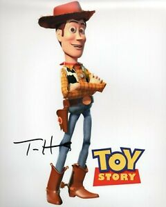 Autographed Tom Hanks signed 8 x 10 photo Toy Story