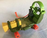 "Vintage Teenage Mutant Ninja Turtles CHEAPSKATE TMNT 6"" Vehicle 1988 Playmates"