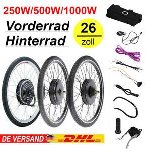 26'' 250W/500W/1000W E Bike Umbausatz Elektrofahrrad Ebike Motor Conversion Kit