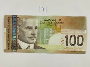 2004 CANADIAN $100 Banknote. 4 of 4