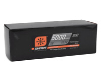 Spektrum 5000mAh 3S 11.1V 30C RC Smart LiPo Hardcase Battery SPMX50003S30H3