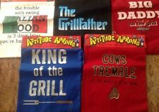 New listing Mens Aprons Attitude Aprons Humorous Bnwt Great For Fathers Day