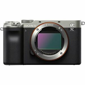 UK Sony a7C Mirrorless Camera Body Only (Silver)
