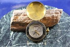 Antique Brass Compass W Provenance